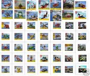 Lego Creator & Racers Autres Promosets Polybags Exclusifs * sélection *