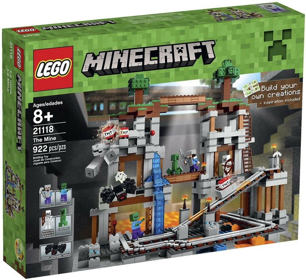 LEGO Minecraft The Mine Set  21118