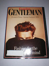 RARE PREMIERE ESQUIRE GENTLEMAN SPRING SUMMER 1993 JAMES DEAN COVER