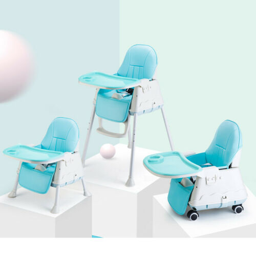 3in1 Baby Highchair Toddler Infant Kids Child Feeding Tray Adjustable High Chair