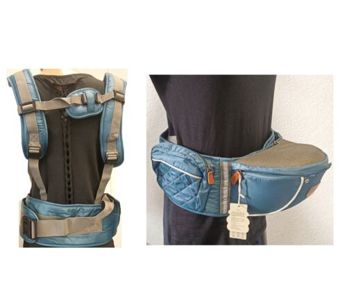 Babytrage Kindertrage Bauchtrage Rückentrage Baby Rucksack 5 Tragepositionen