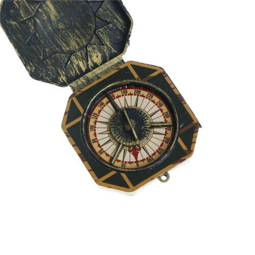2pcs Halloween Cosplay Pirate Compass Prop Fake Compass Captain Costume ToysGK