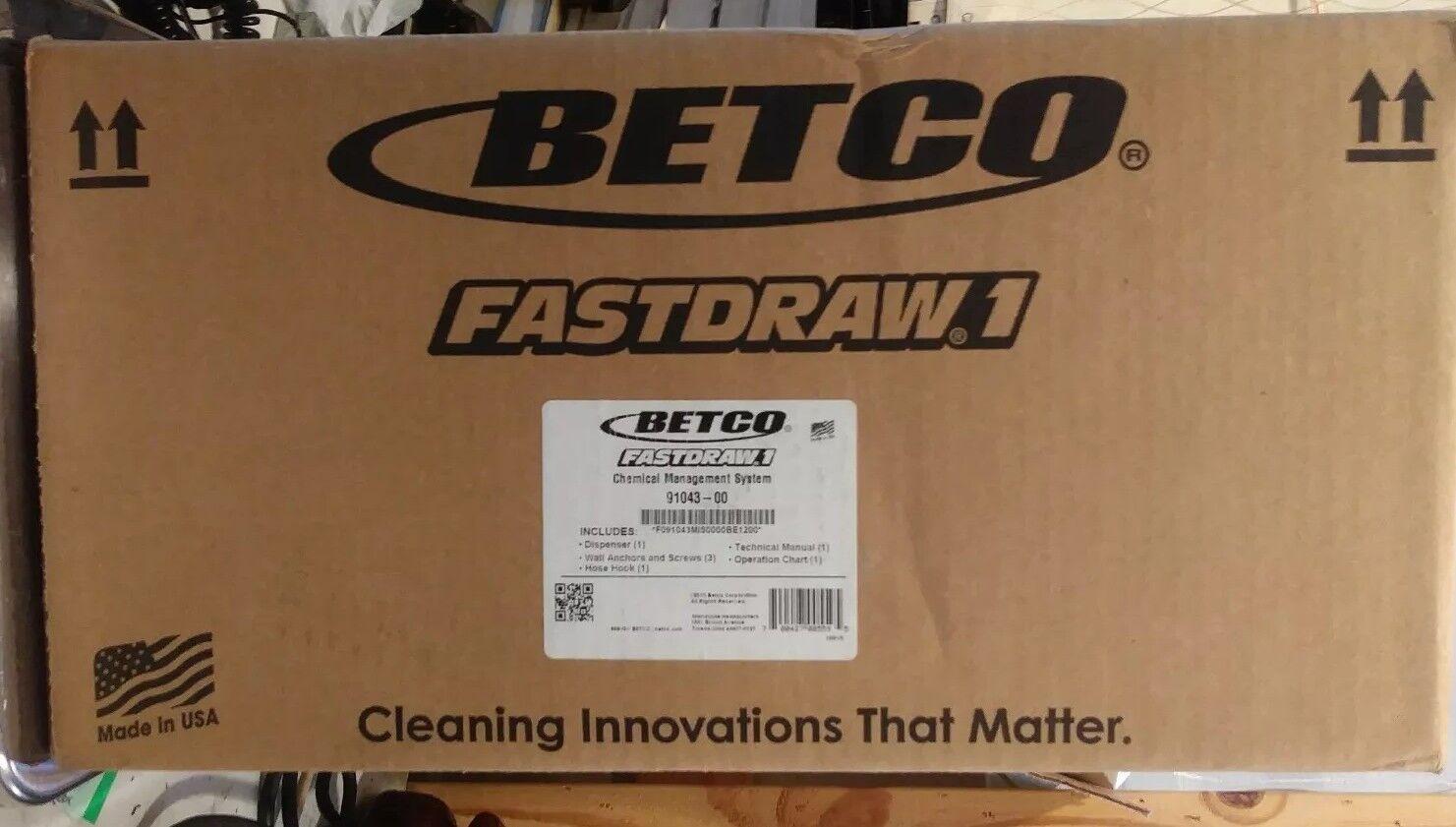 Betco Fastdraw 1 Chemical Management Dispenser - 91043-00 Fastdraw1