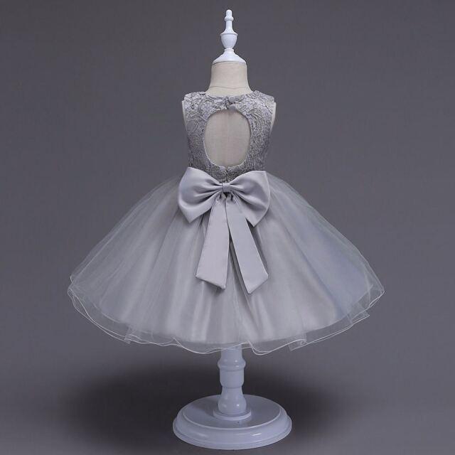 Flower Girl Dress Princess Formal Birthday Party Holday Bridesmaid Wedding New