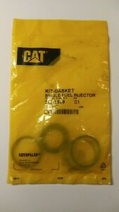 Five-Kits-of-Brand-New-Genuine-CAT-OEM-242-1539-Single-Fuel-Injector-O-Ring-Kits