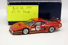 AMR Kit Monté 1/43 - Ferrari 512 BB BHS Le Mans 1979 N°70