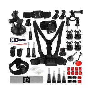 PULUZ-PKT17-45-in-1-Ultimate-Combo-Kits-Chest-Strap-Suction-Cup-Mount-3-Way