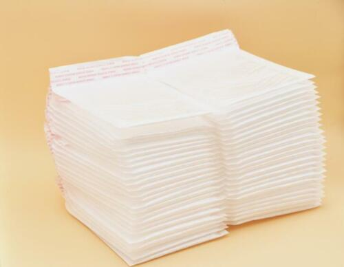 """HARZOLE WOW-1111 50Pack  4.25/"""" x 4.25/""""Poly Bubble Mailer Padded Envelope Bags"""