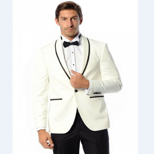 Cheap Tailored Suits Blue Blazer Groom Tuxedos Best Man Groomsman Suit Prom Clothing for cheap