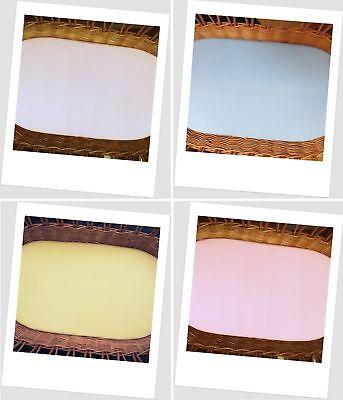 Nursery Bedding Sets Glorious Jersey Spannbetttuch Oval Stubenwagen Matratze 40x70 Cm Neu & Ovp Providing Amenities For The People; Making Life Easier For The Population