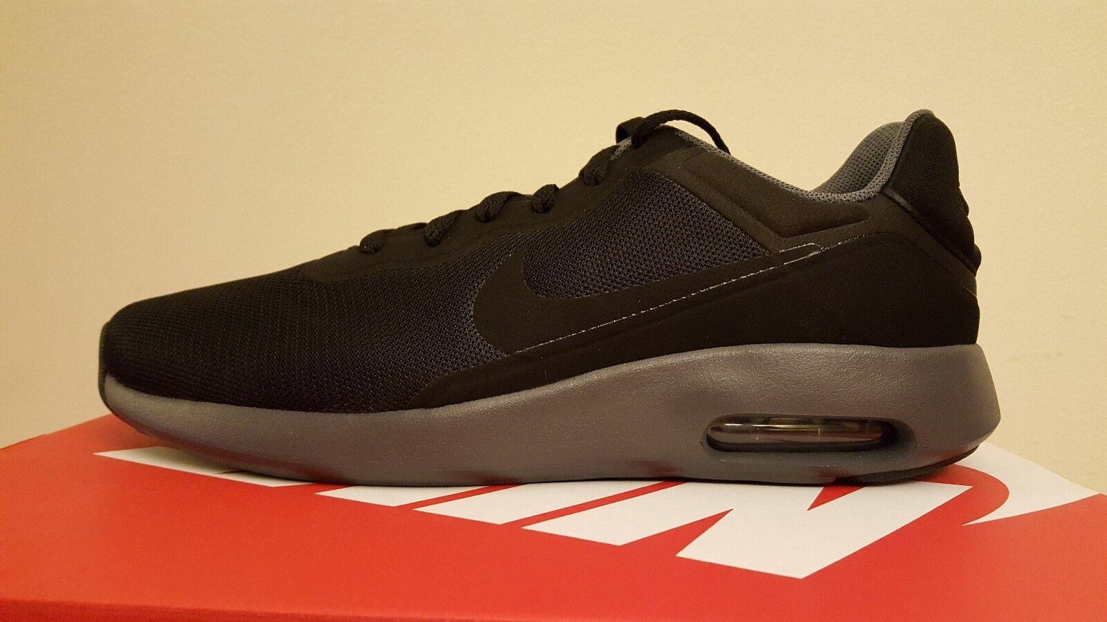 Nike Air Max Modern Essential Men's Running shoes Black Grey (844874 003)