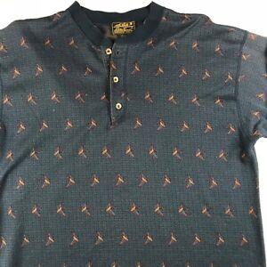 Shirt Usa eenden Henley Vintage jaren mouw Mens totale Lange Eddie grote Bauer 90 ONkZ0X8nPw