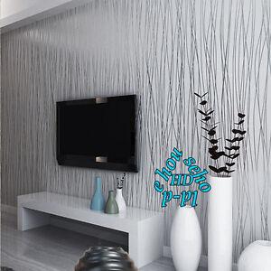 Image Is Loading 3D Silk Pattern Stripe Feature Wallpaper Glitter Plain  Part 36