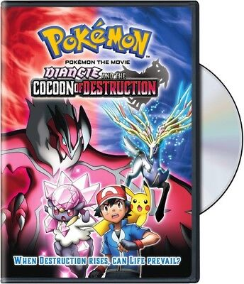Pokemon The Movie Diancie And The Cocoon Of Destruction New Dvd