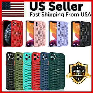 Heat Dissipation Breathable Cooling Case For iPhone 11 Pro Max XS XR 8 7 SE PLUS