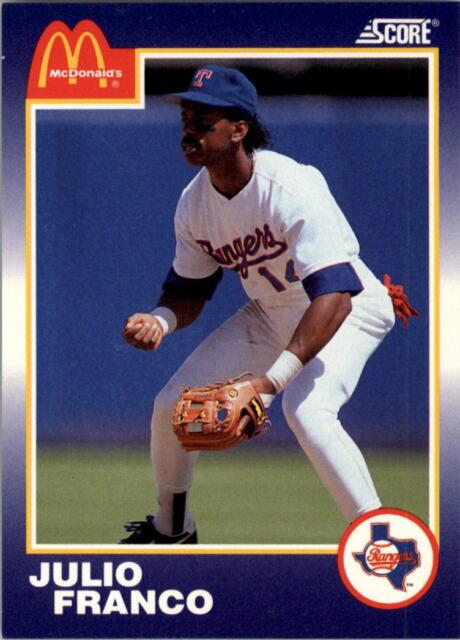 1990 Score Mcdonalds Baseball Card Pick