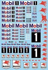Mobil Sponsoren Bogen No.3 - 1:32 Decal Abziehbilder