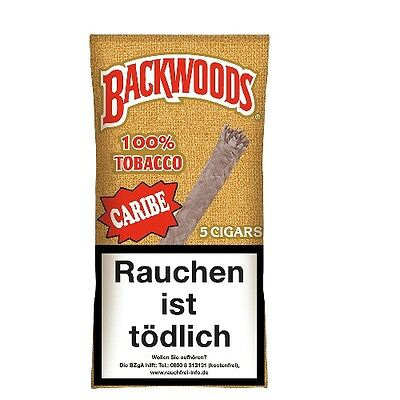 Backwoods Caribe 5 Zigarren / 34491