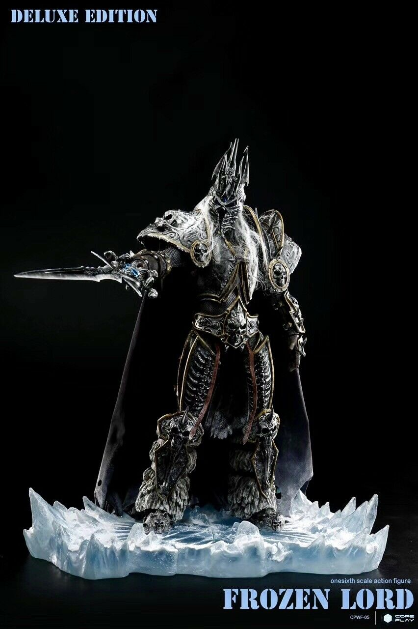 CoreJugar World of Warcraft Rey Exánime Arthas escala 1 6 Figura De Acción En Stock