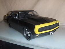 Toy Jada Dub 1:24 Black 1967 Chevy Camaro Car show Hot Rod