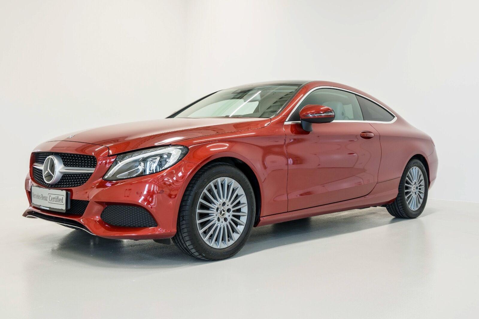 Mercedes C200 2,0 Coupé aut. 2d - 479.900 kr.