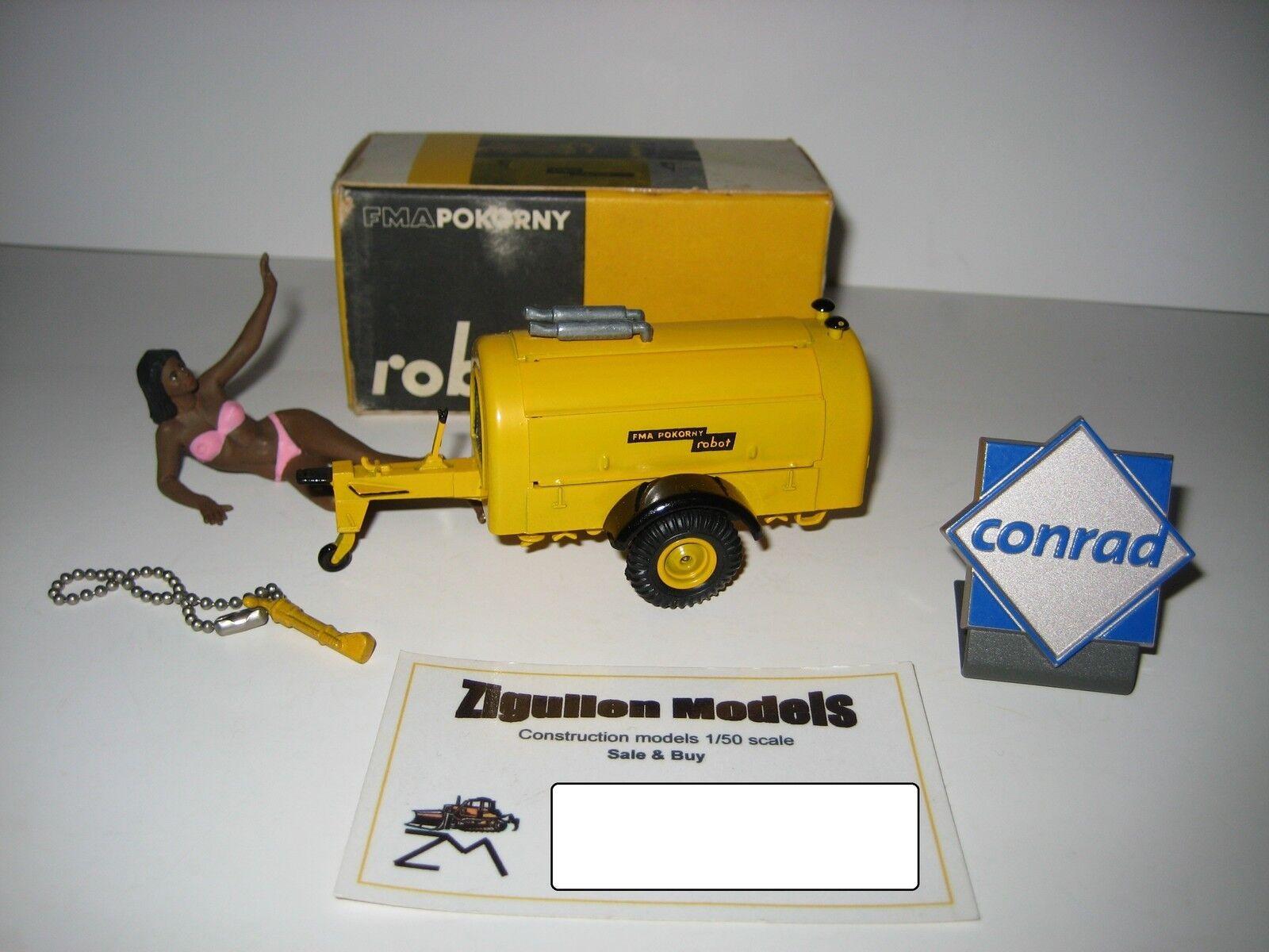 Pokorny Robot DW 95 compresseur  302 avec marteau STRENCO CONRAD 1 50 NEUF dans sa boîte
