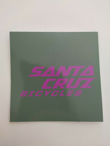 1x Aufkleber Santa Cruz Sticker 9x9cm hightower nomad bronson megatower v10 5010