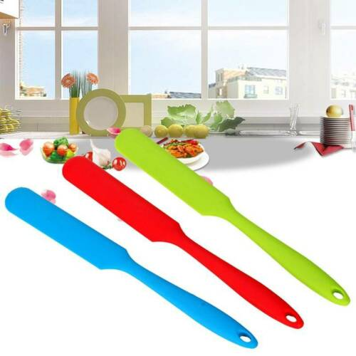 Soft Seamless Silicone Spatula Butter Cream Scraper Baking Tools for Cakes us