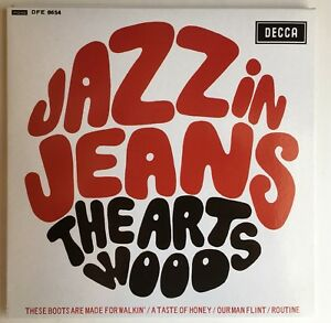 THE-ARTWOODS-JAZZ-IN-JEANS-MONO-1966-RARE-45-7-034-EP-REISSUE-DECCA-DFE-8654