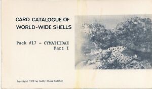 Sally-Kaicher-Tarjeta-Paquetes-Paquete-17-Cymatiidae-Parte-I