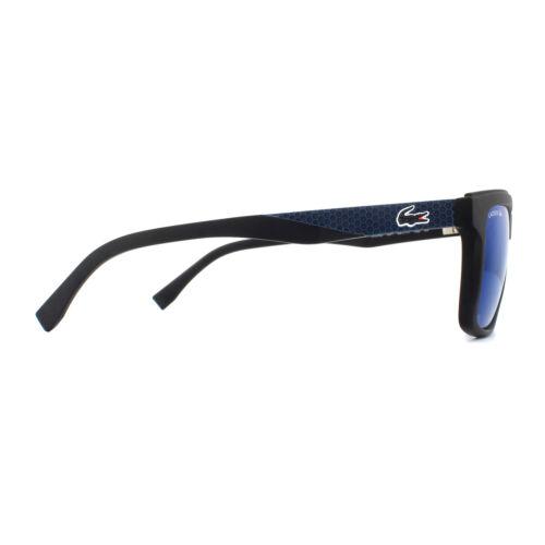 Lacoste Sunglasses L899S 001 Matte Black Blue
