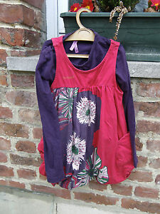 robe-DESIGUAL-TAILLE-5-6-ANS