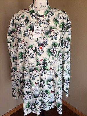 Vintage Classic 1800 S Wear By Judy 2xl Womens Shirt Polar Bears