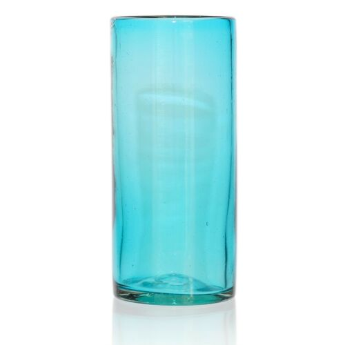 Hi-Ball Tall Glass Hand Blown Recycled Glass Ethically Sourced from Mexico