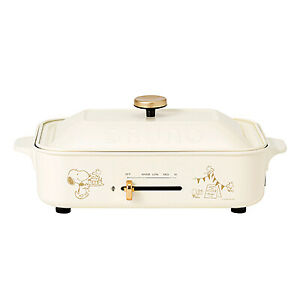 BRUNO Hot Plate Snoopy Limited Japan Domestic NEW