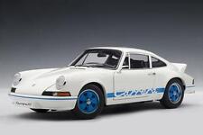PORSCHE 911 Carrera 2.7 RS 1973 Entenbürzel blue blau weiss white AUTOart 1:18