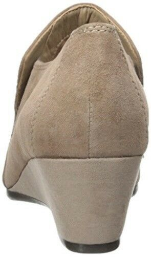 Easy Spirit Lareina ankle boot wedge dark dark dark taupe suede Leder sz 9 Med NEW d1094c