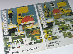 PROXXON-UTENSILI-2-Cataloghi-1995-e-1997-Pagine-98-Lingua-Italiana