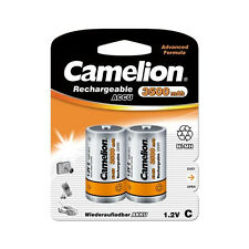 4 Accus Piles rechargeables LR14 / C 3500mAh CAMELION