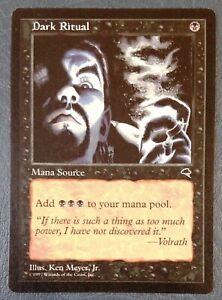 Dark ritual x1 mtg tempest Losse kaarten Verzamelingen