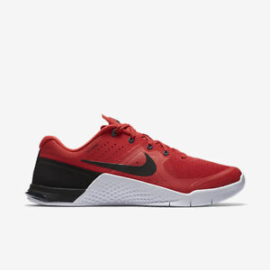 695fad4dd094 Nike Metcon 2 Men Shoes Action Red Black White 819899-601 Multiple ...