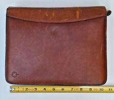 Franklin Covey Daily Planner 1 12 Riverwood All Leather Zipper Binder Classic