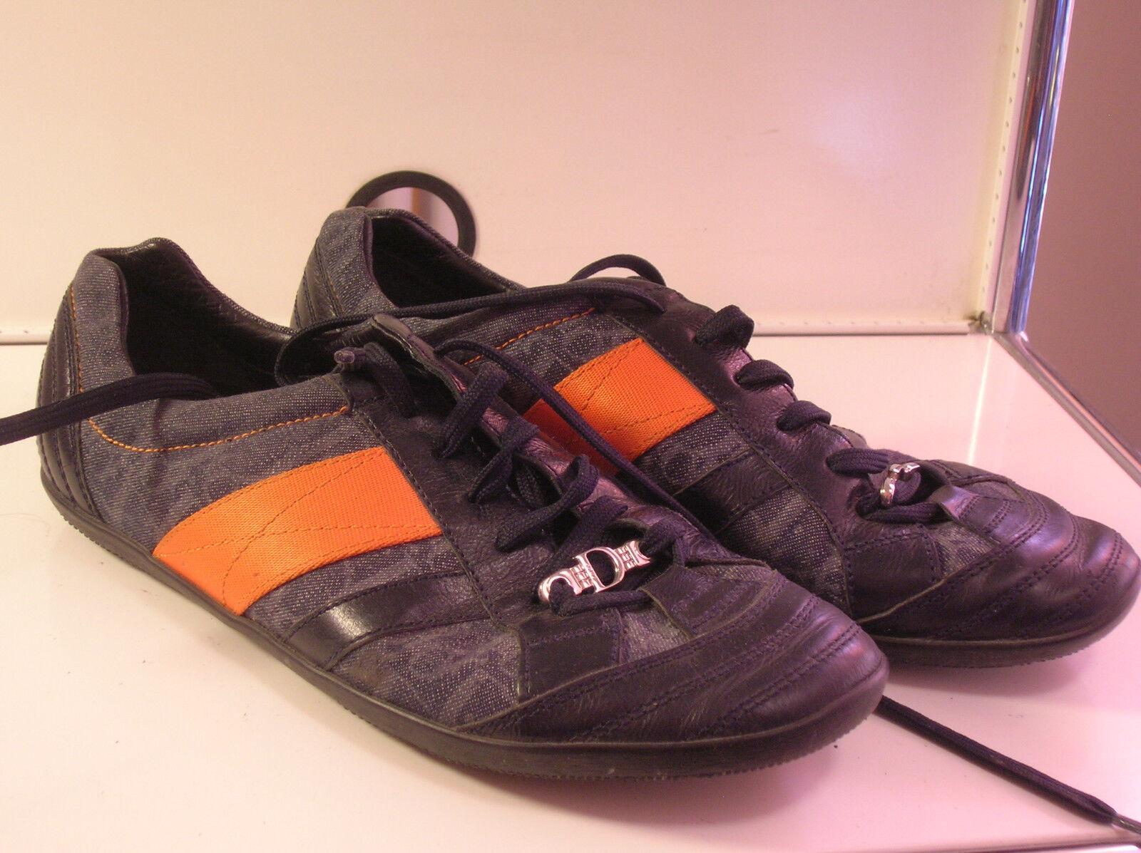 CHRISTIAN DIOR original Design-Sneaker Jeans Gr. 40,5 10wenig getragen  NP 500.-