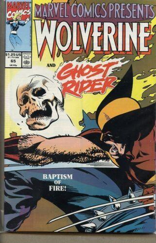 Marvel Comics Presents 1988 series # 65 very fine comic book