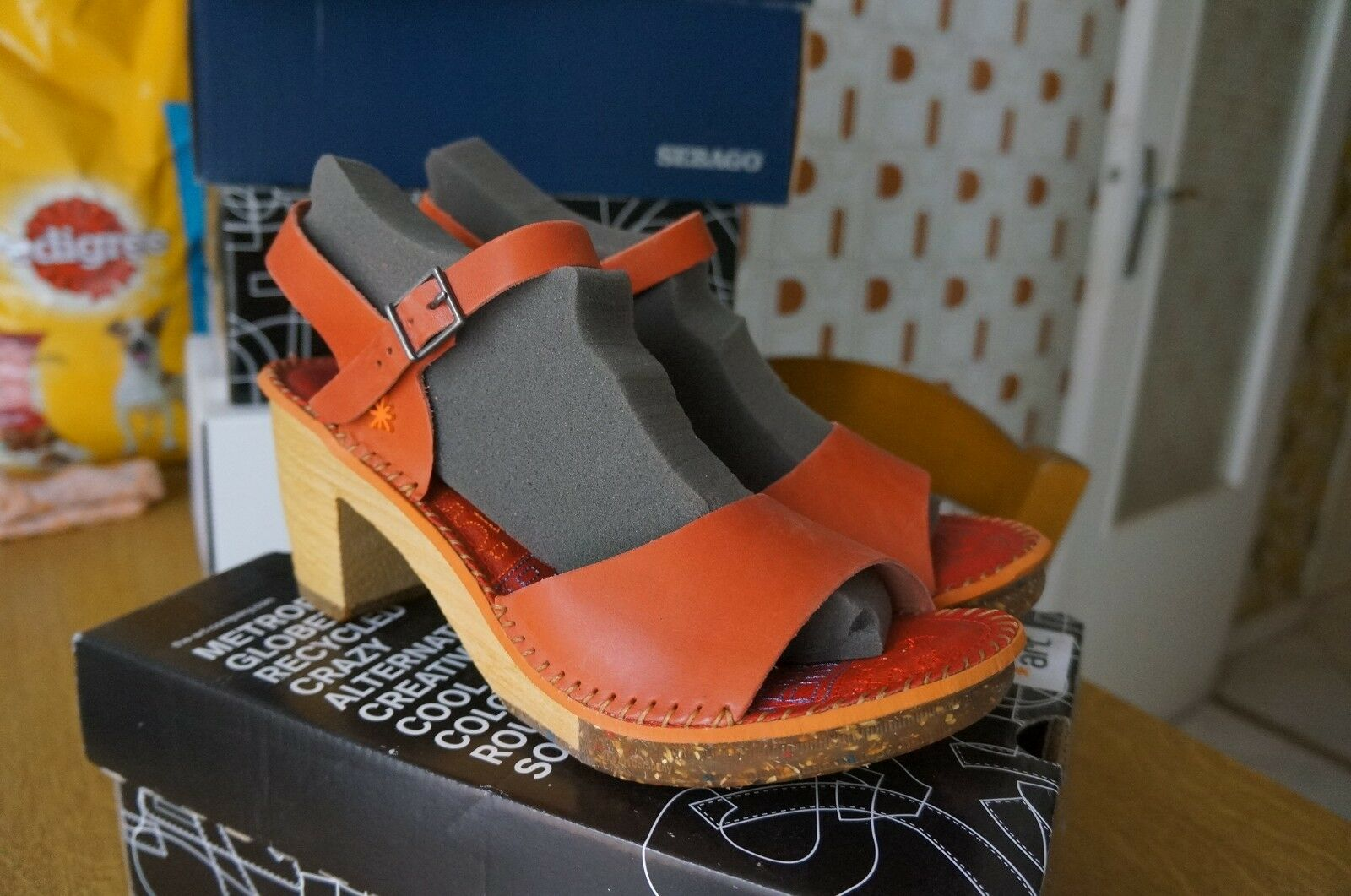 ART 0325 Mojave Amsterdam Sandali con cinturino alla caviglia femmes,  42 EU-