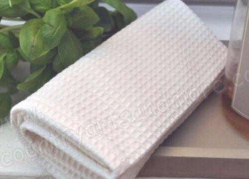 100/% coton blanc Küchentuch Gaufre Piquet 70 x 45 ARTEFINA torchon serviette