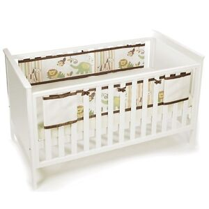 Breathablebaby Mesh Cot Liner Child Soft Breathable Cot