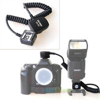 E-TTL Off Camera Shoe Flash Sync Cable Cord For Canon OC-E3 600EX 430EX 580EX II