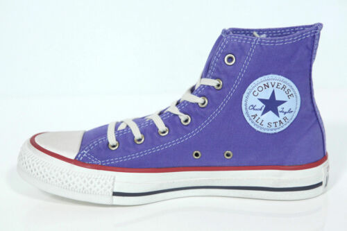 NUOVO ALL STAR CONVERSE Chucks HI lavato Nightshade 142629c sneakers retro
