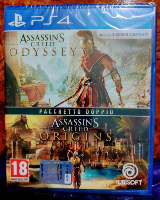 Sony PS4 Assassin's Creed Odyssey/Origins pacchetto doppio Italiano nuovo!